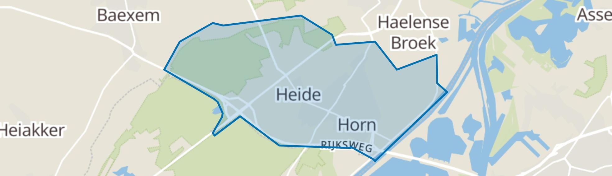 Horn map