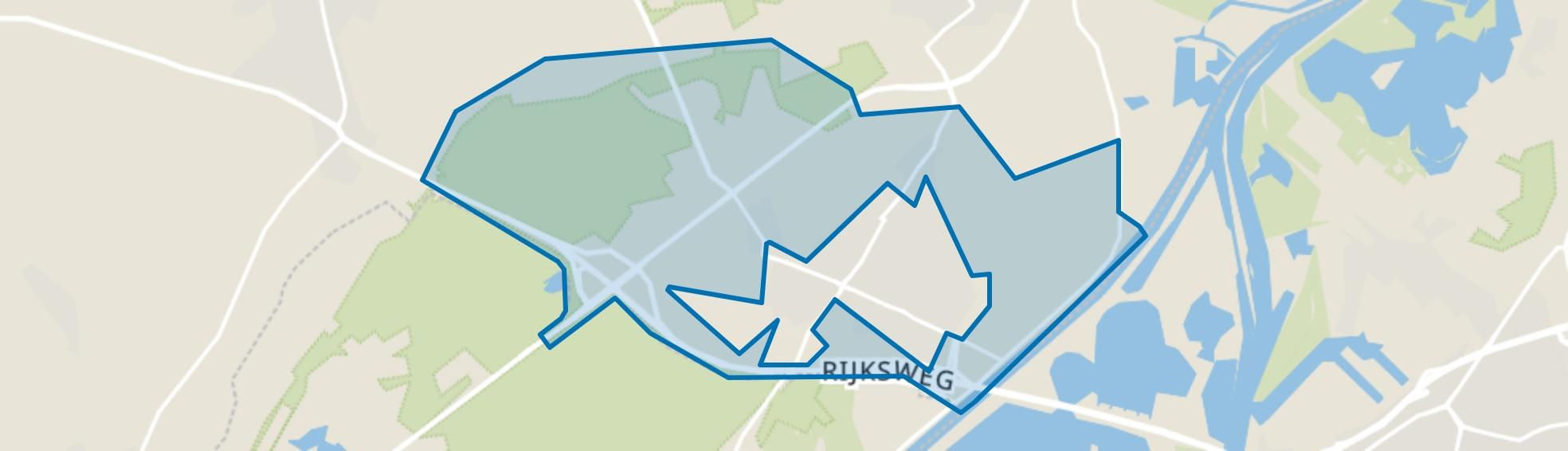 Verspreide huizen Horn, Horn map