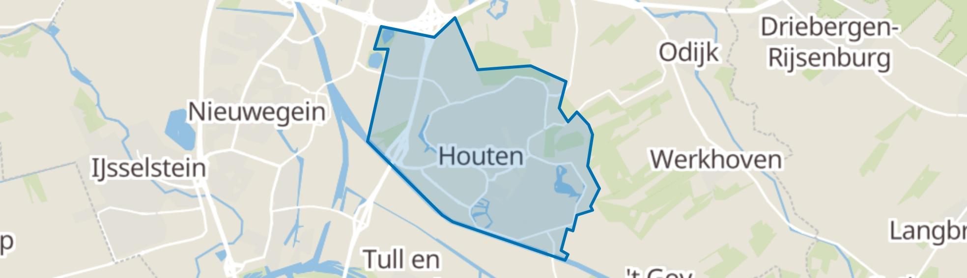 Houten map