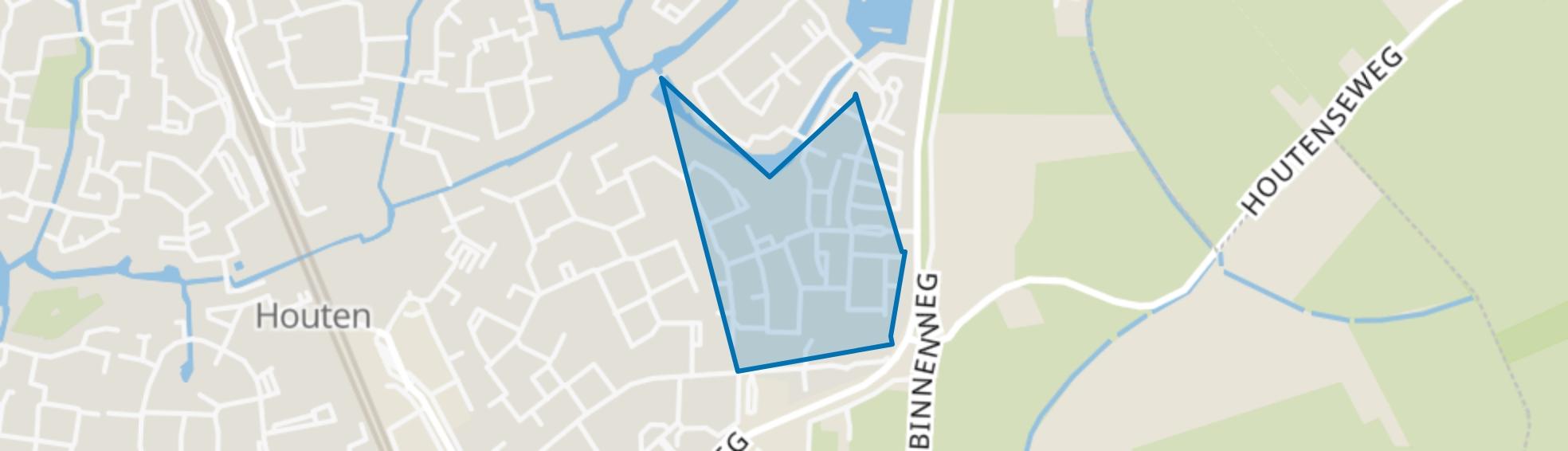 Akkers, Houten map