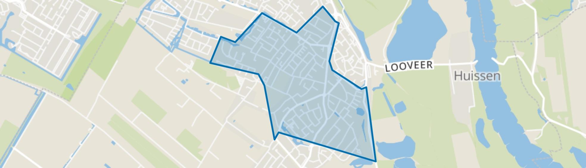 Uitbreiding Stad Huissen, Huissen map