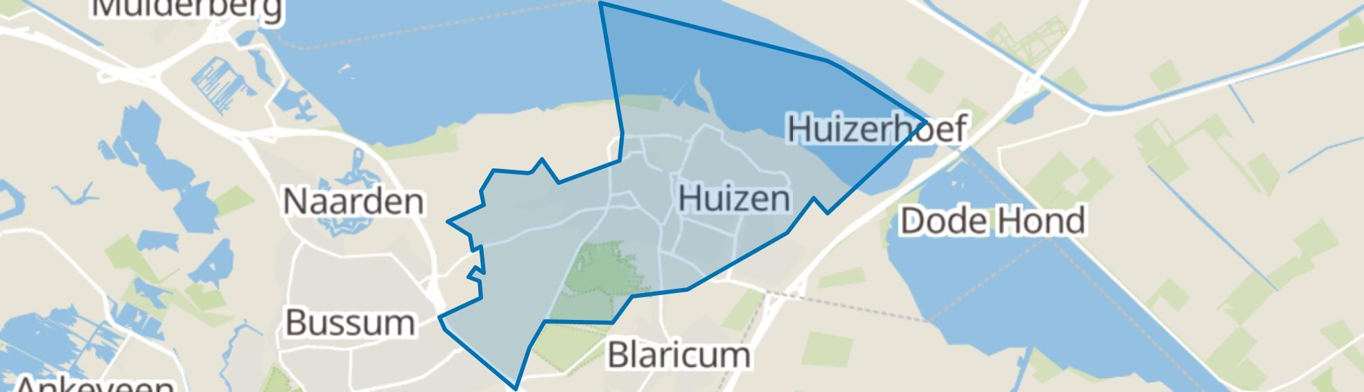 Huizen map