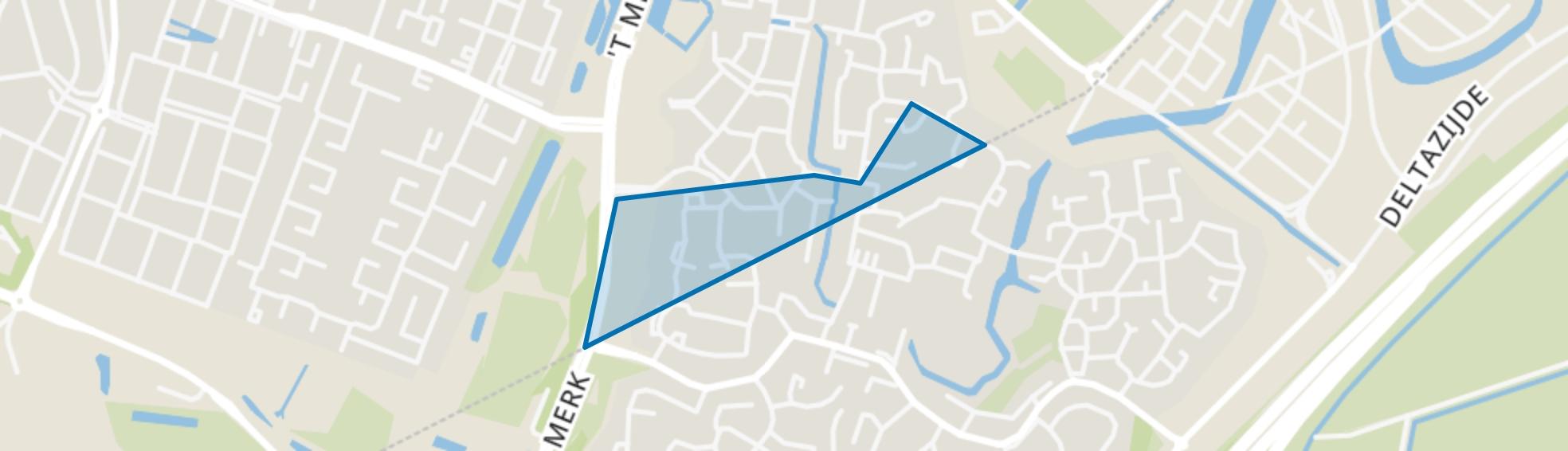 Bijvanck West, Huizen map