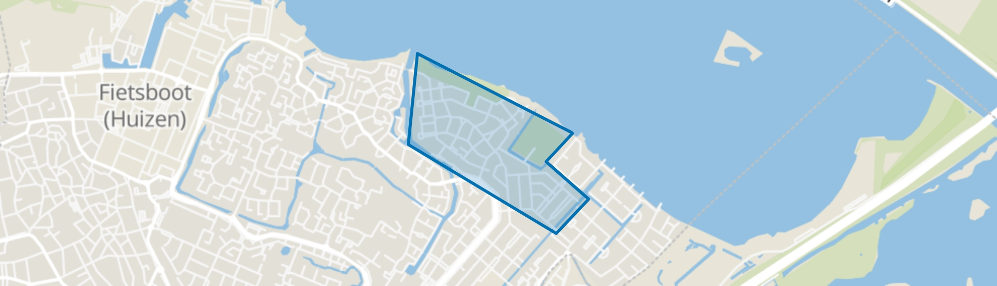 Bovenmaat Noord, Huizen map