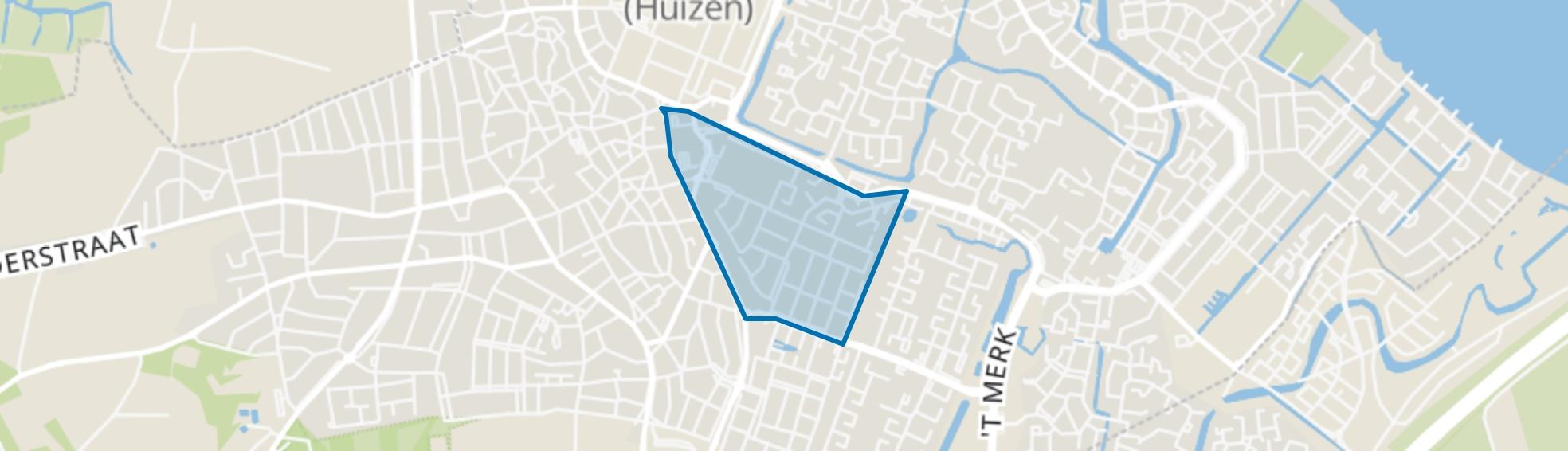 Bovenweg, Huizen map