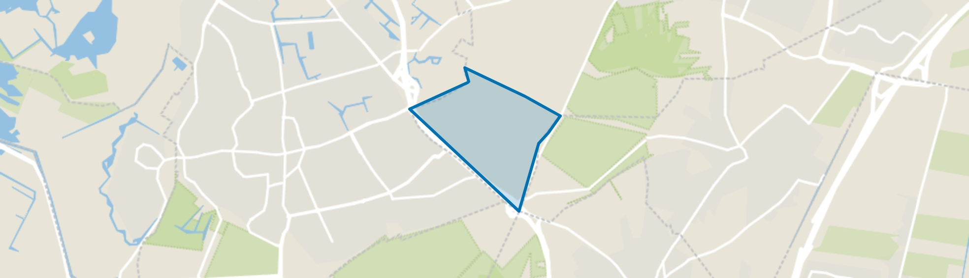 Crailo, Huizen map