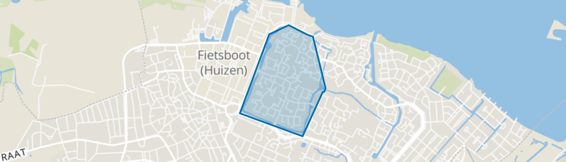 Huizermaat West, Huizen map