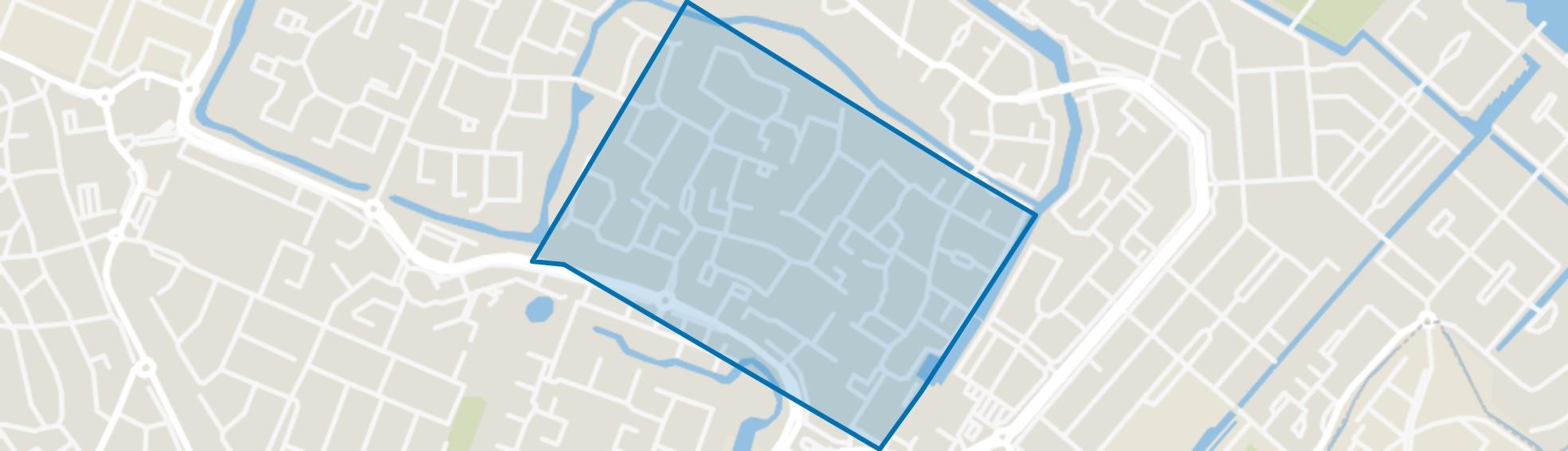 Huizermaat Zuid, Huizen map