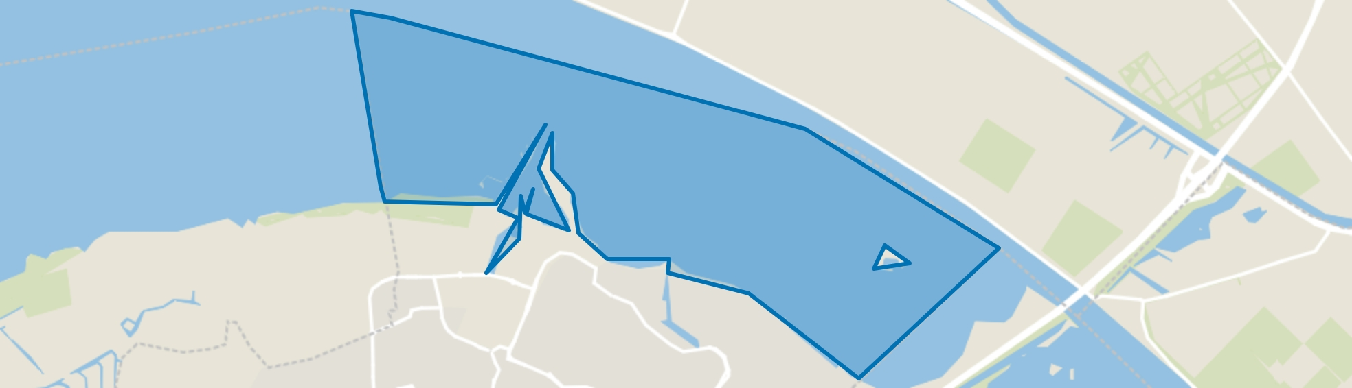 Water, Huizen map