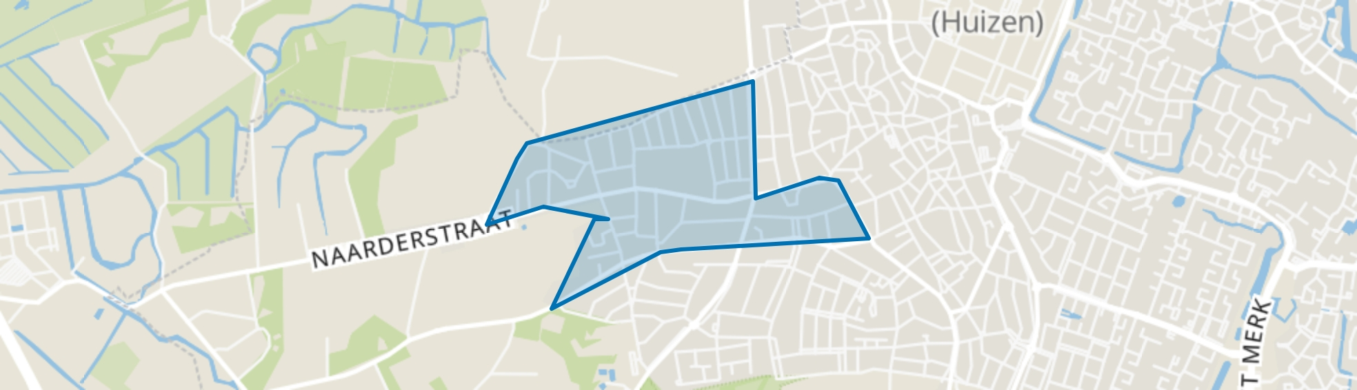 Westereng, Huizen map