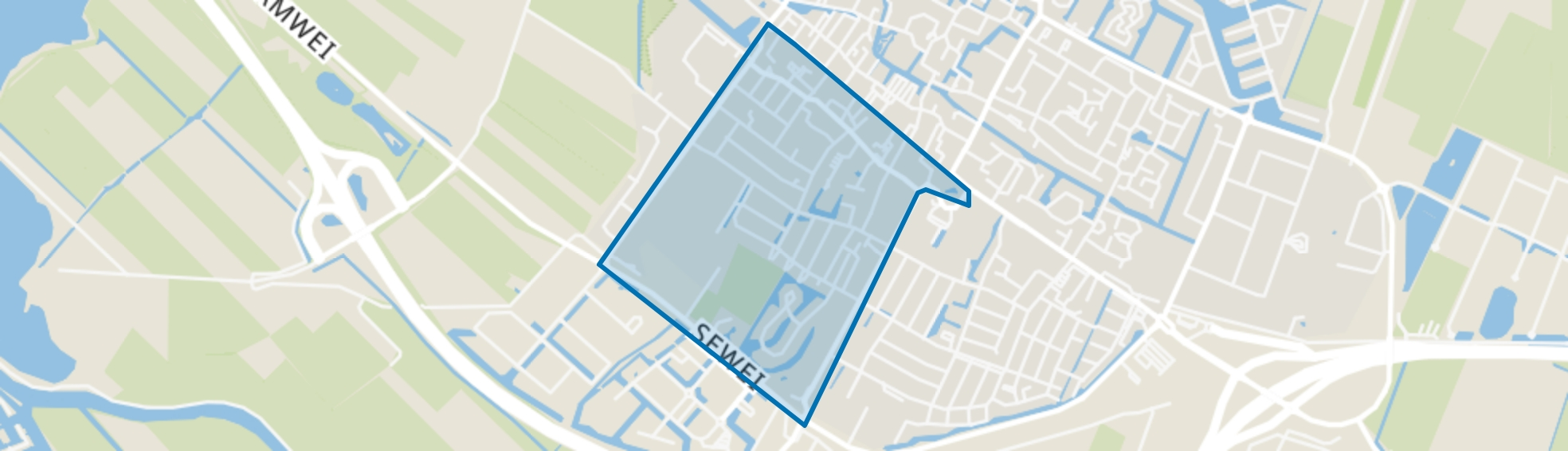 Joure, Blaauwhof, Joure map