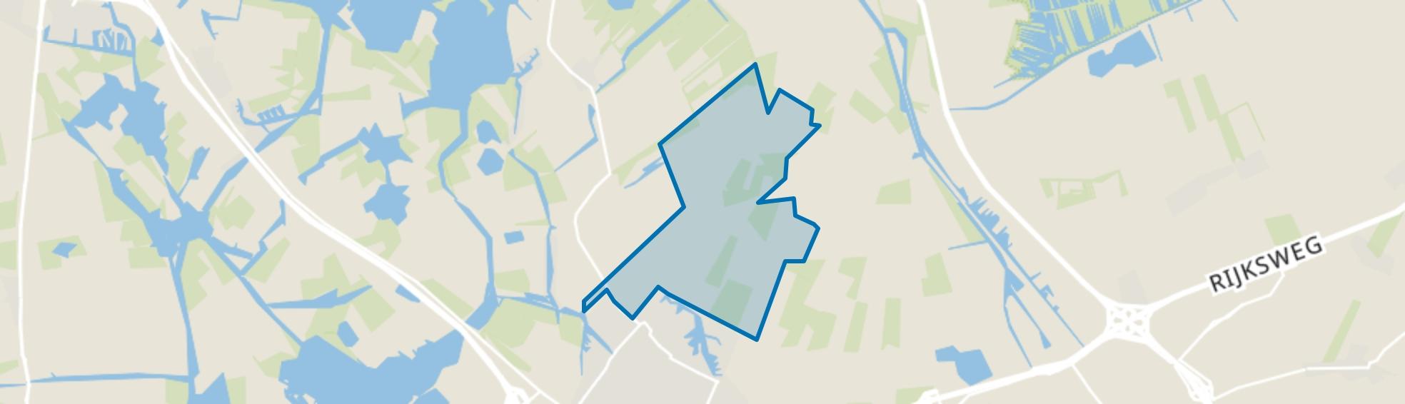 Joure, Buitengebied, Joure map