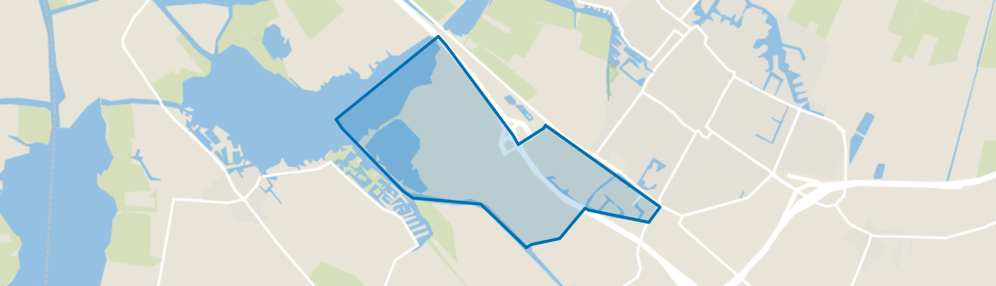 Joure, Woudfennen, Joure map