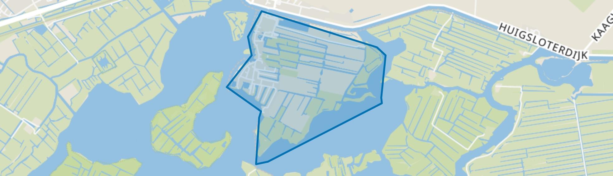 Kaag, Kaag map
