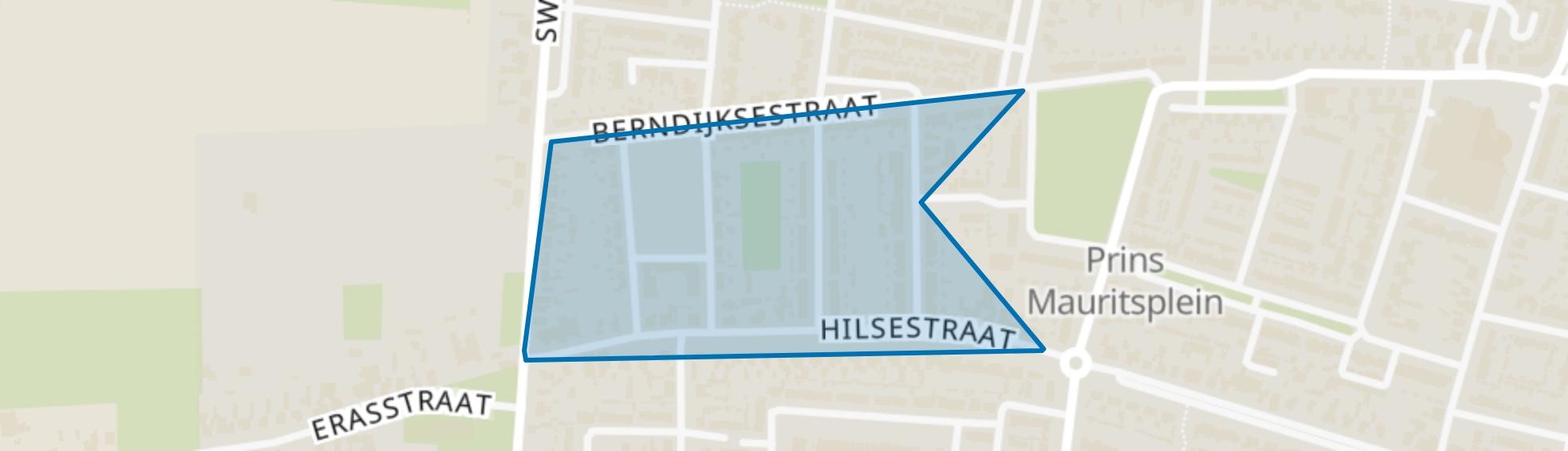 Bloemenbuurt, Kaatsheuvel map