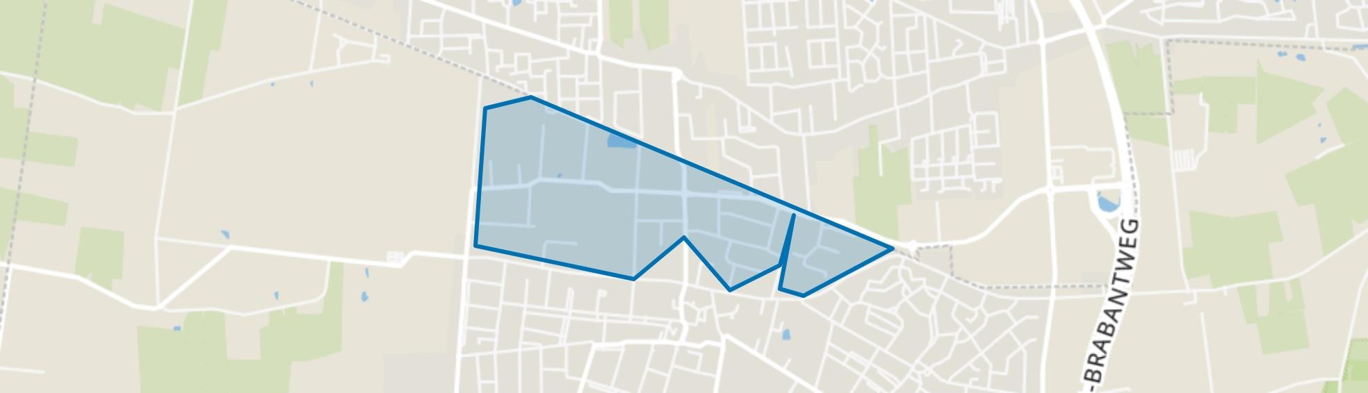 De Kets (industrieterrein), Kaatsheuvel map