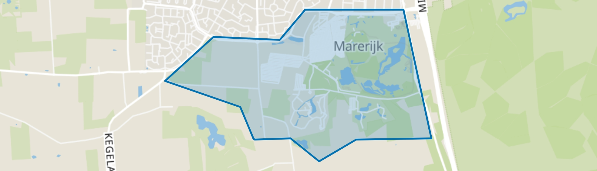 De Klinkenpolder, Kaatsheuvel map