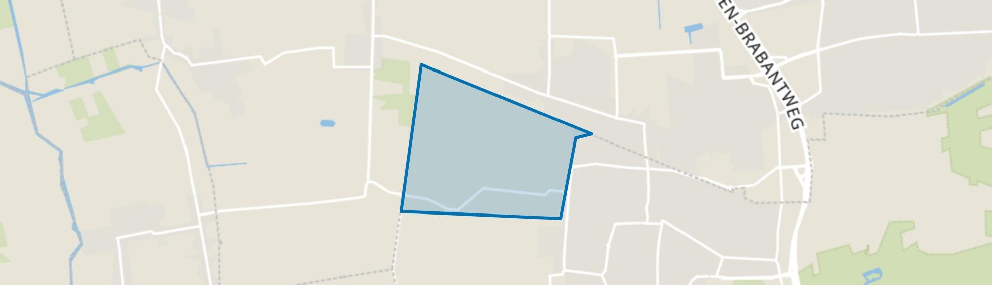 De Zandschel, Kaatsheuvel map