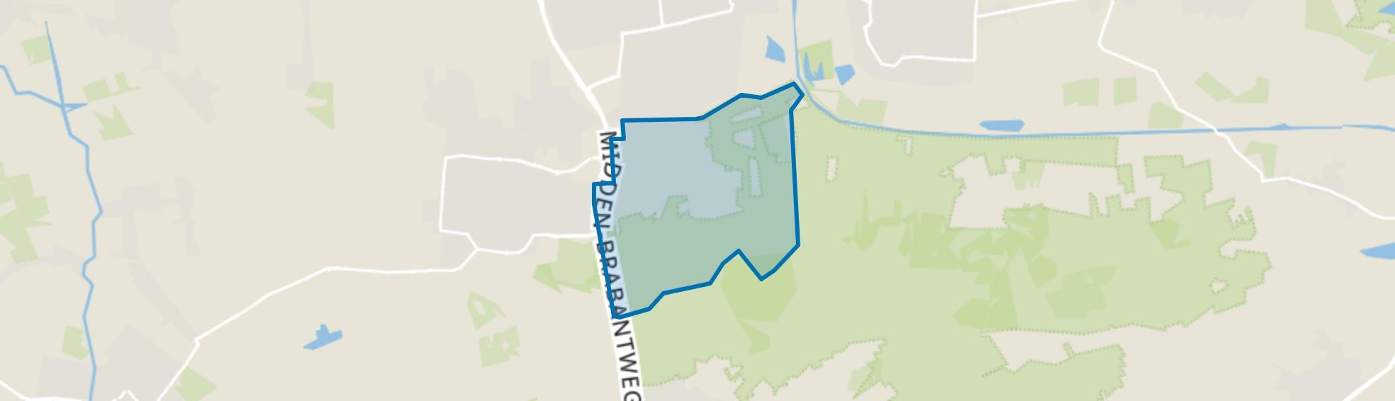 Het Hoekske, Kaatsheuvel map