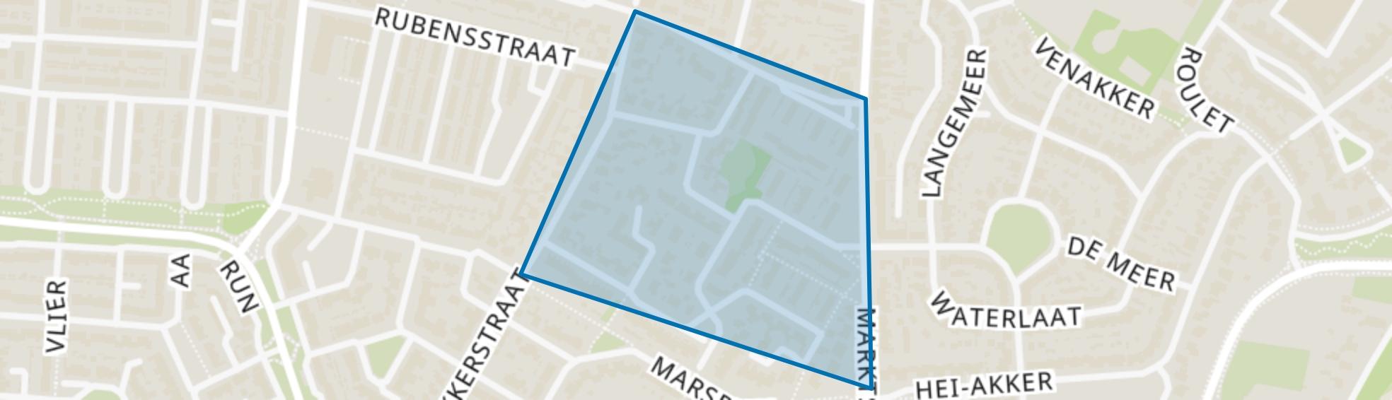 Hil (noord), Kaatsheuvel map