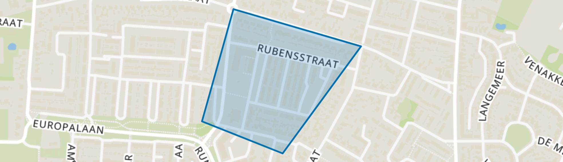 Pannenhoef (oost), Kaatsheuvel map