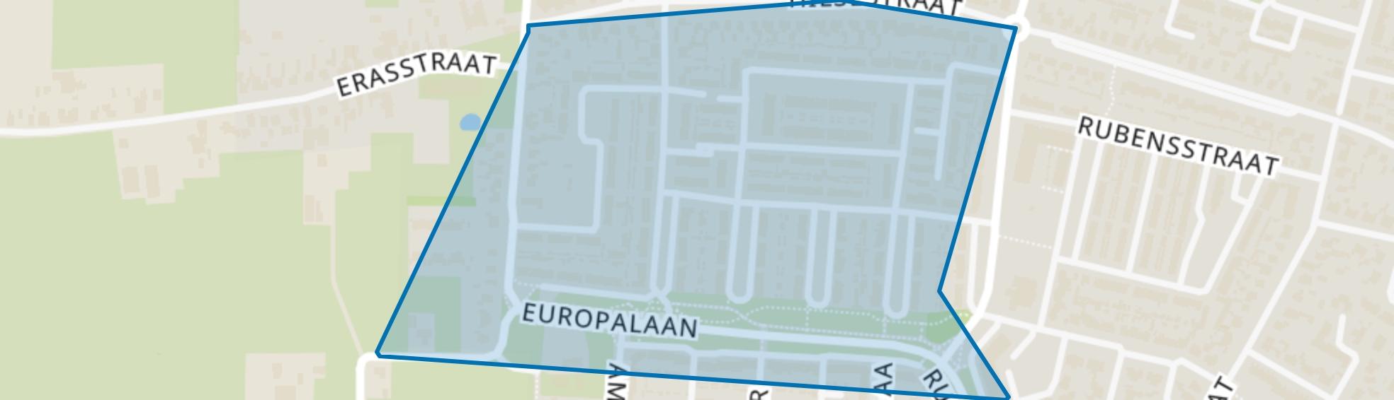 Pannenhoef (west), Kaatsheuvel map