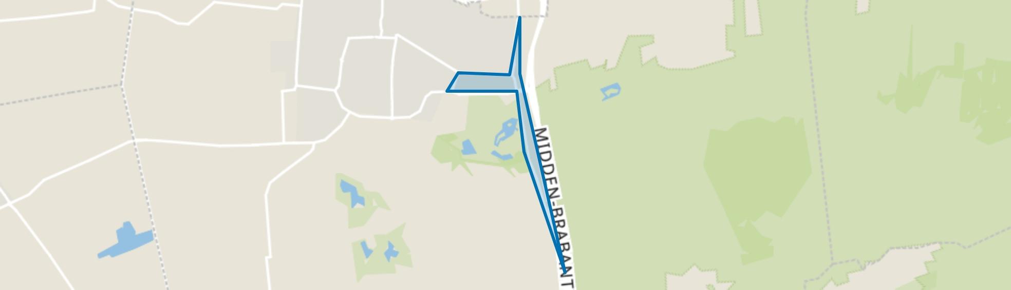 Prinsessenbuurt, Kaatsheuvel map