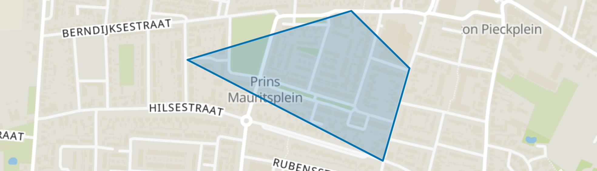 Staatsliedenbuurt, Kaatsheuvel map