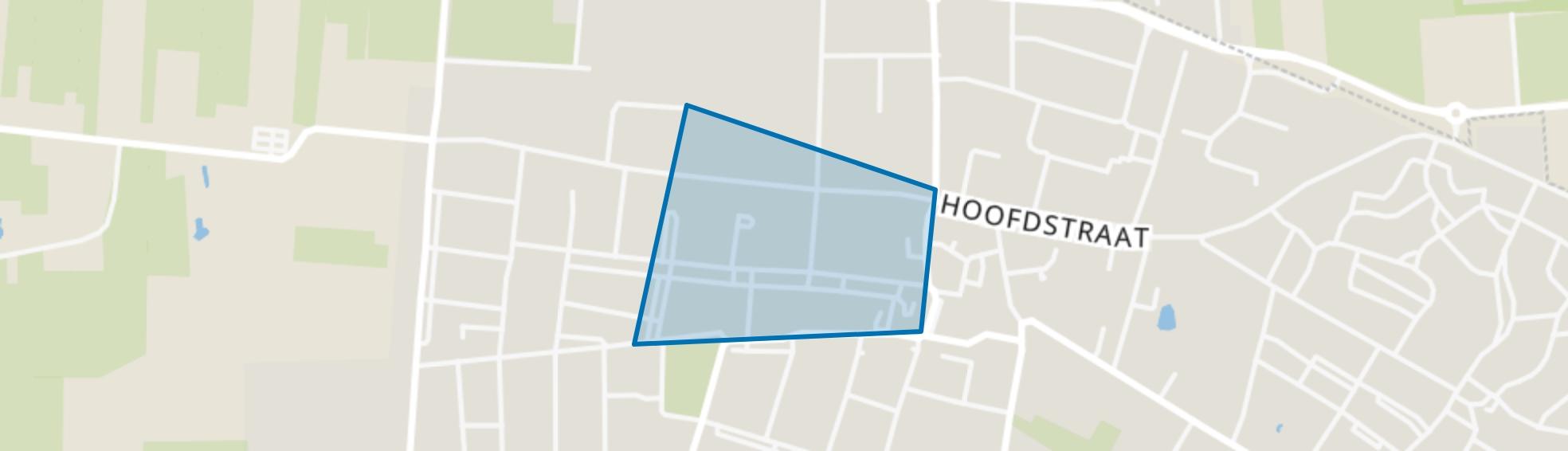 Vossenberg (oost), Kaatsheuvel map