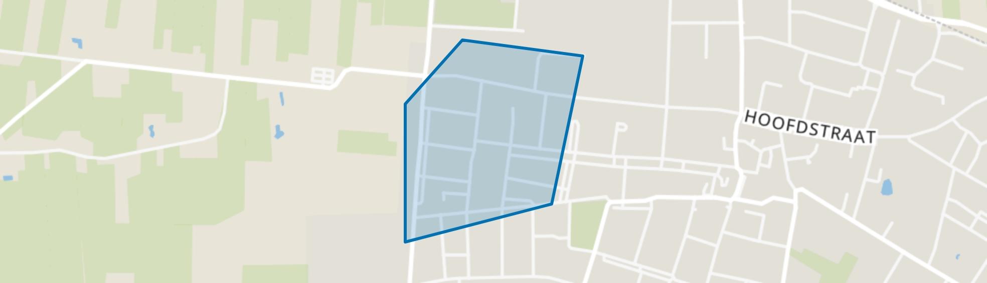 Vossenberg (west), Kaatsheuvel map