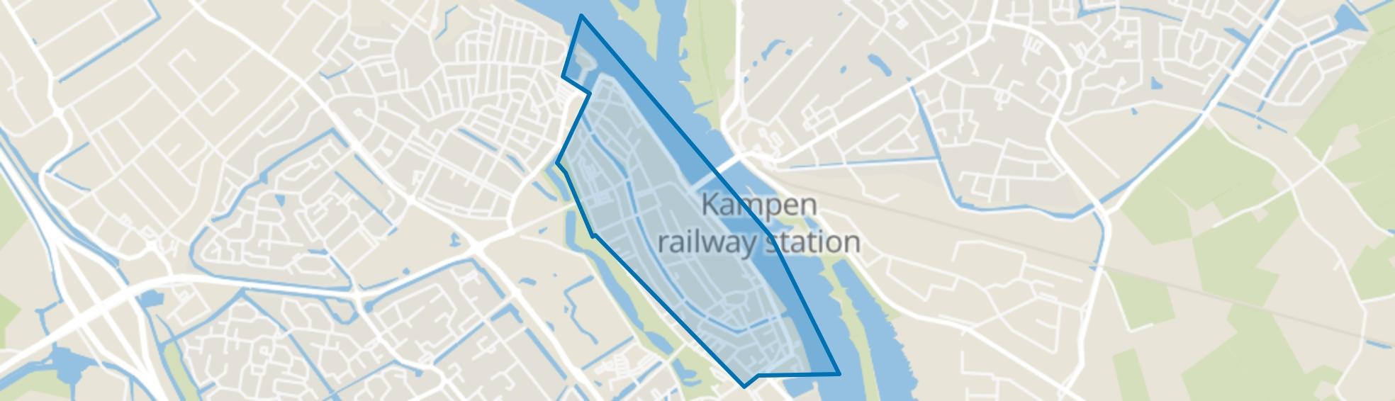 Binnenstad Kampen, Kampen map
