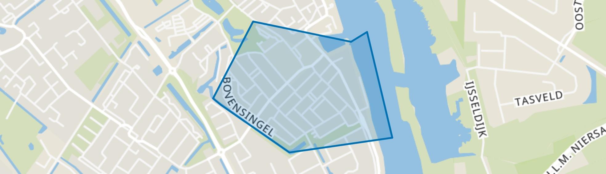 Kampen-Zuid, Kampen map