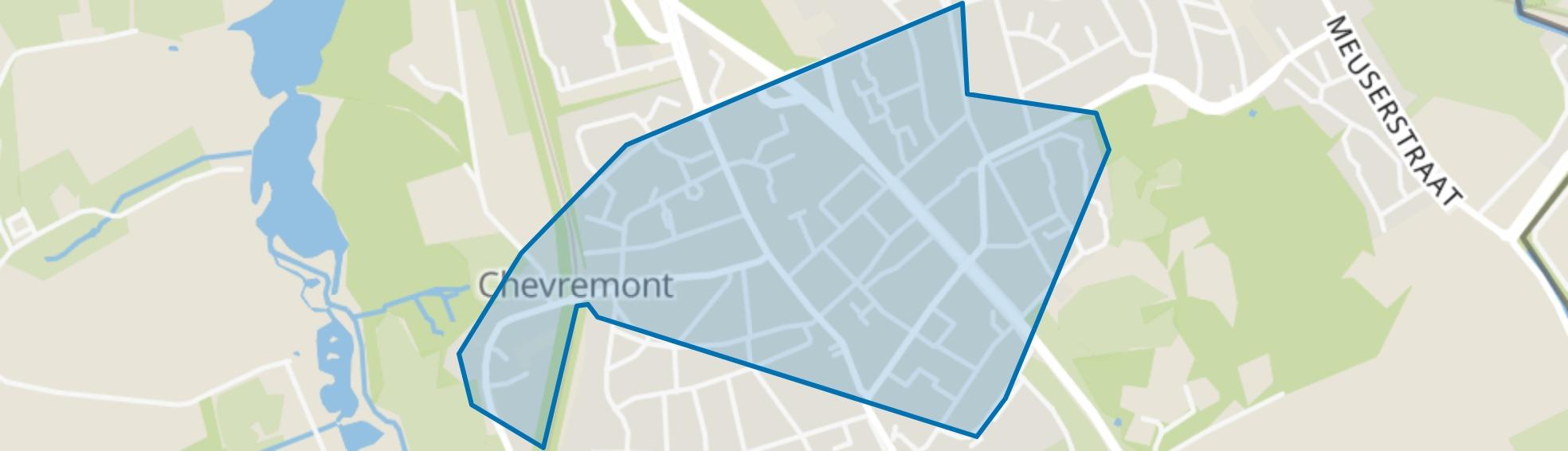 Chevremont, Kerkrade map