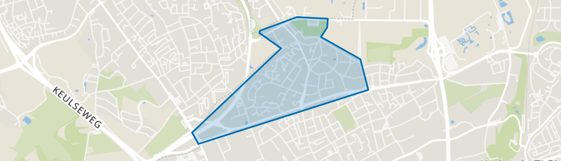Terwinselen, Kerkrade map