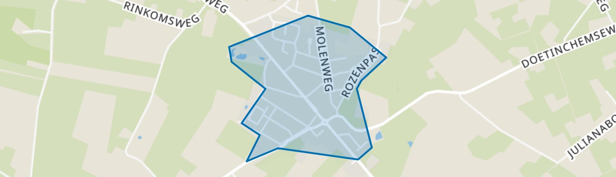 Kilder, Kilder map