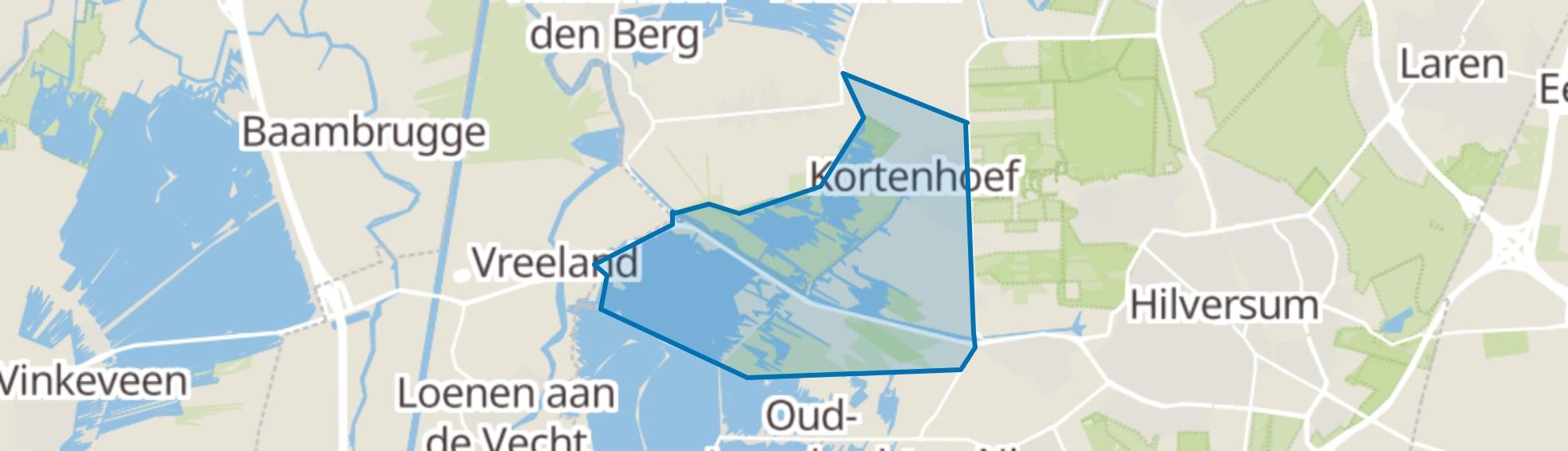 Kortenhoef map