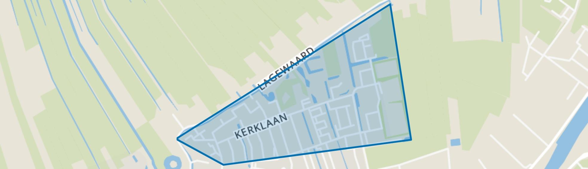 Koudekerk aan den Rijn-Noord, Koudekerk aan den Rijn map