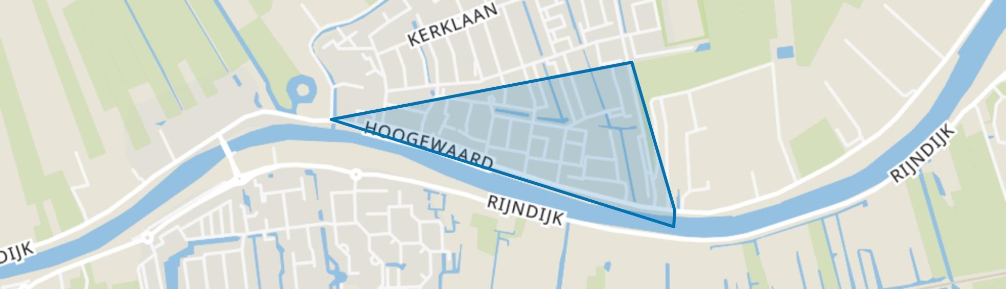 Koudekerk aan den Rijn-Zuid, Koudekerk aan den Rijn map