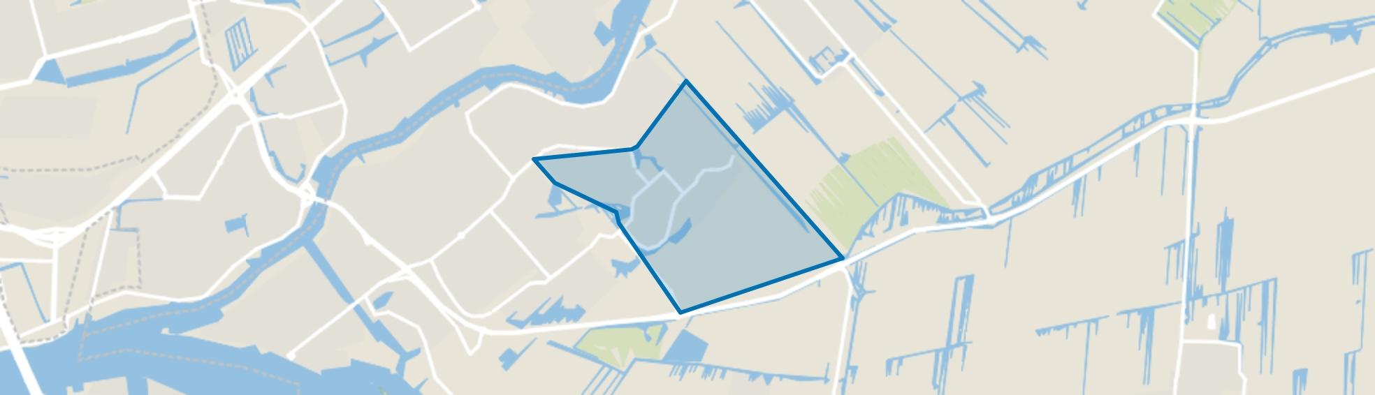 Langeland, Krimpen aan den IJssel map
