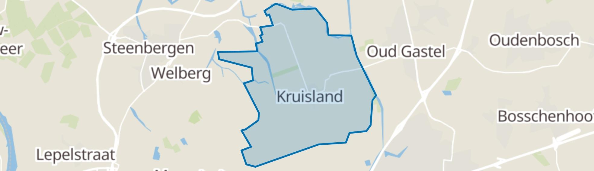 Kruisland map