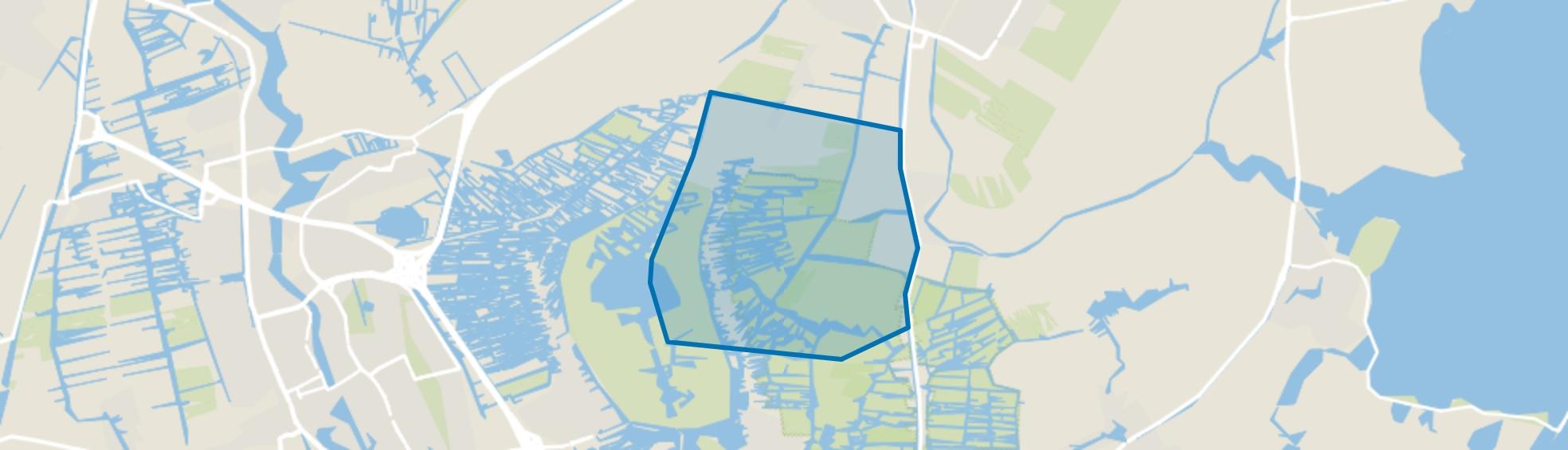 Den Ilp, Landsmeer map