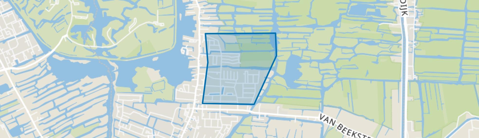 Plan Centrum-Noord, Landsmeer map