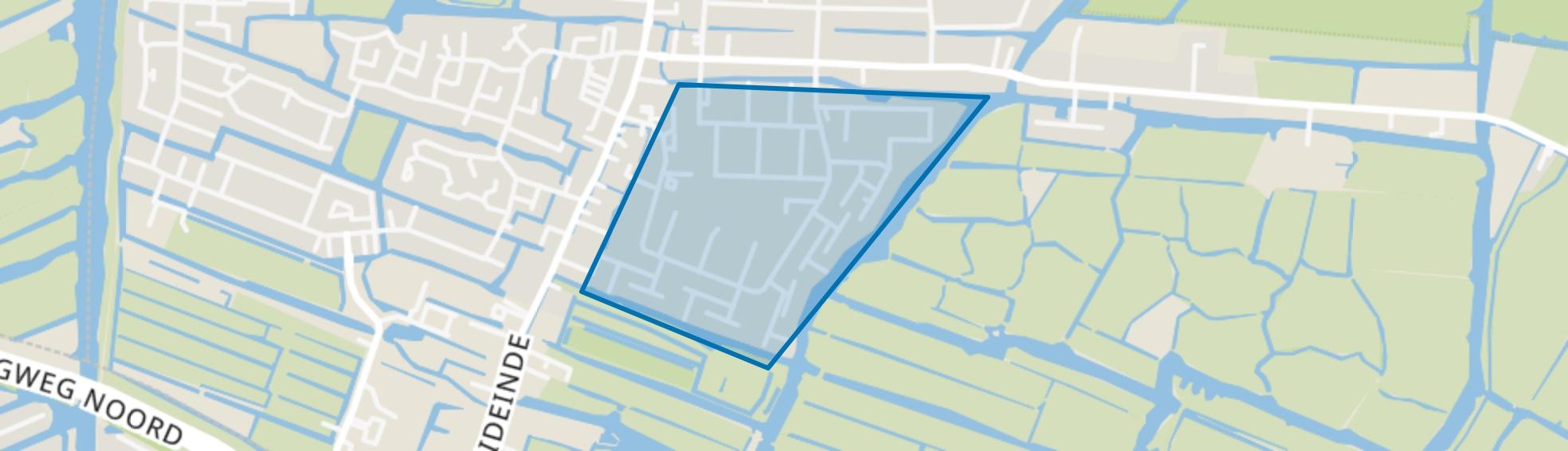 Plan Centrum-Zuid, Landsmeer map