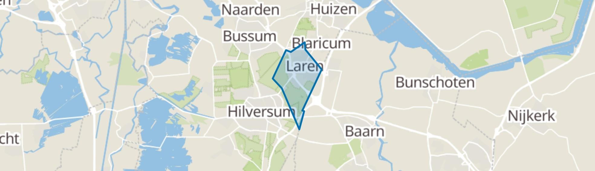 Laren (NH) map