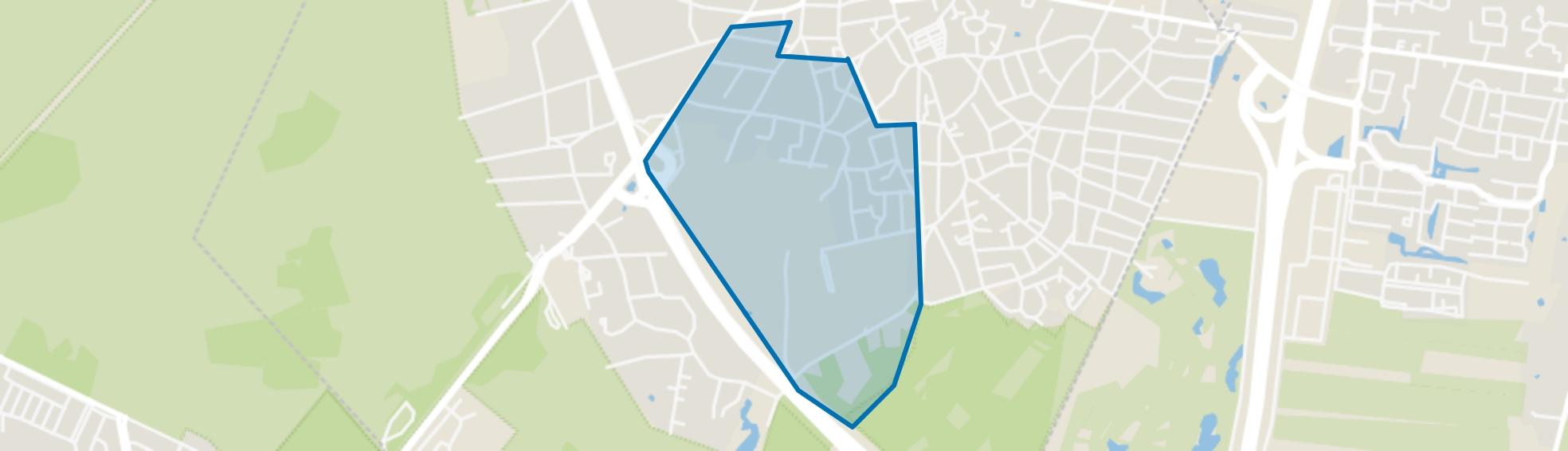 Oostereng, Laren (NH) map