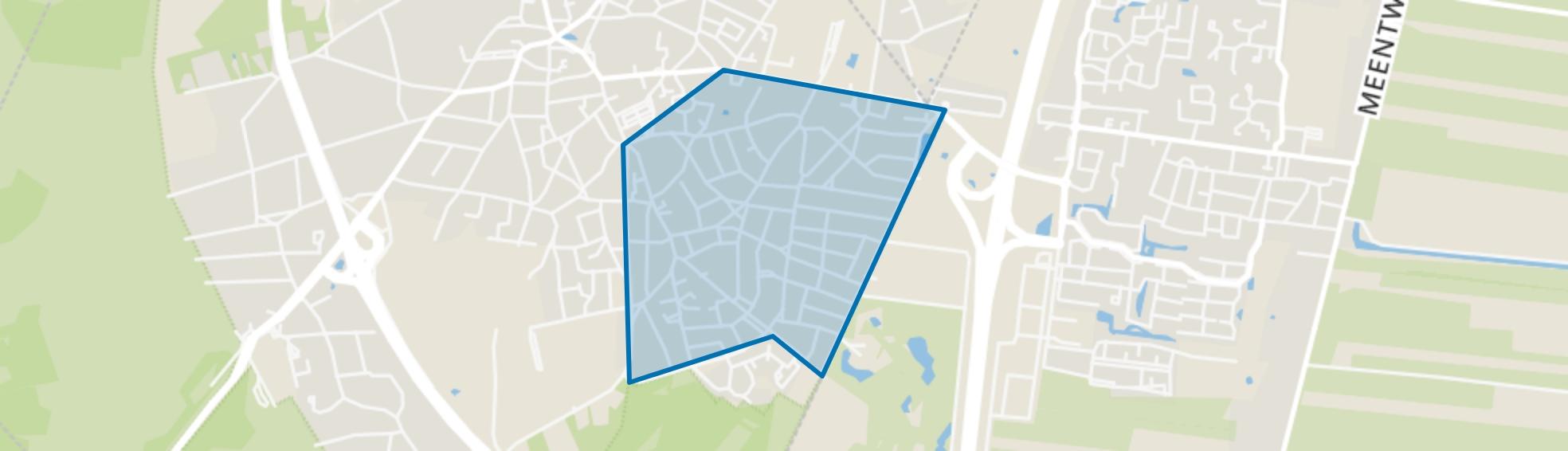 Zevenend, Laren (NH) map