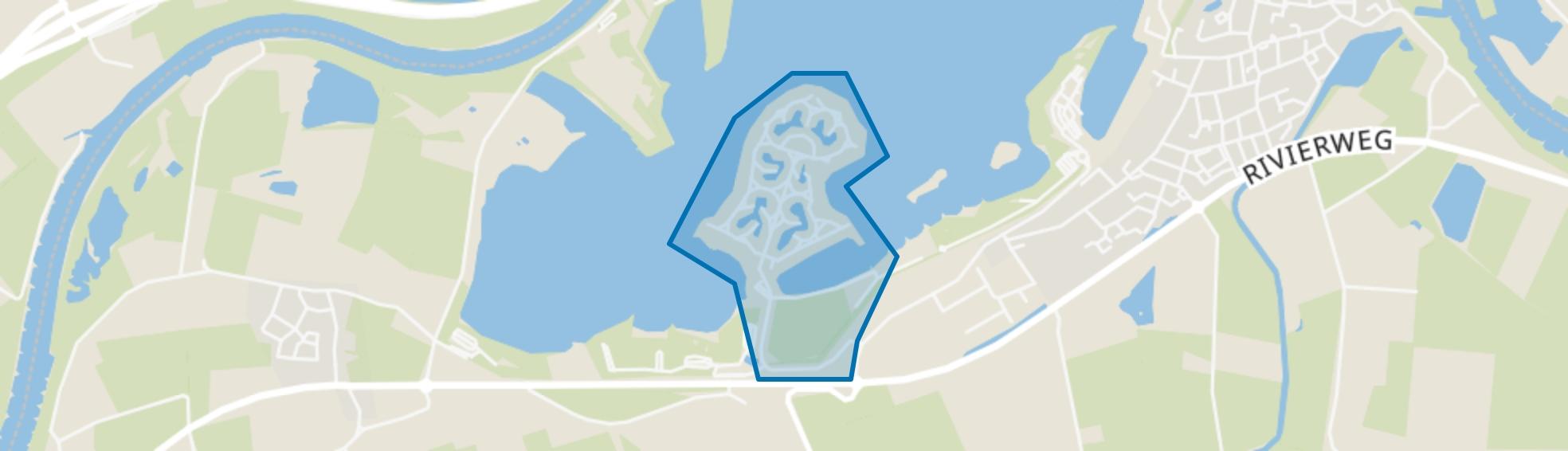 Riverparc, Lathum map