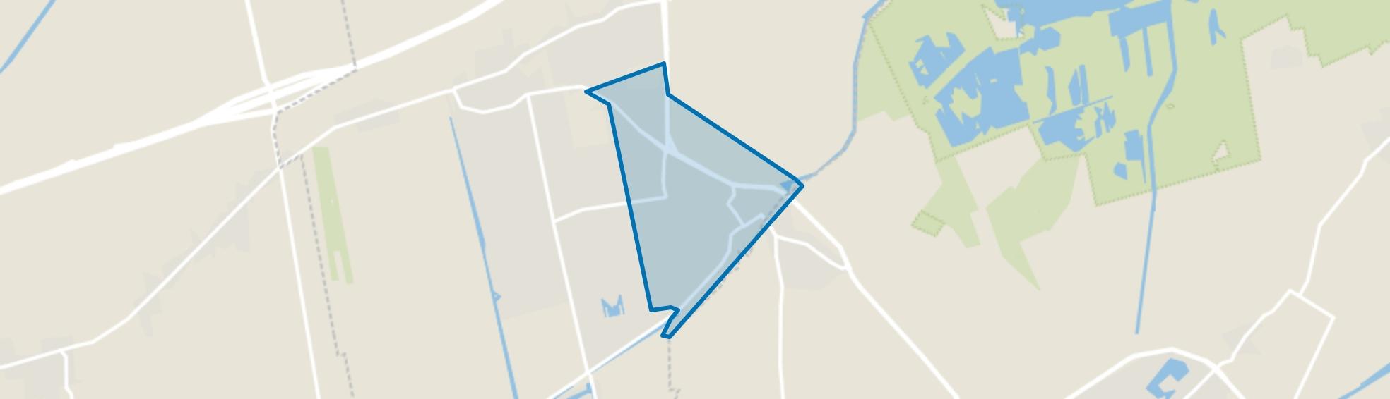 Centrum Leek en omgeving, Leek map