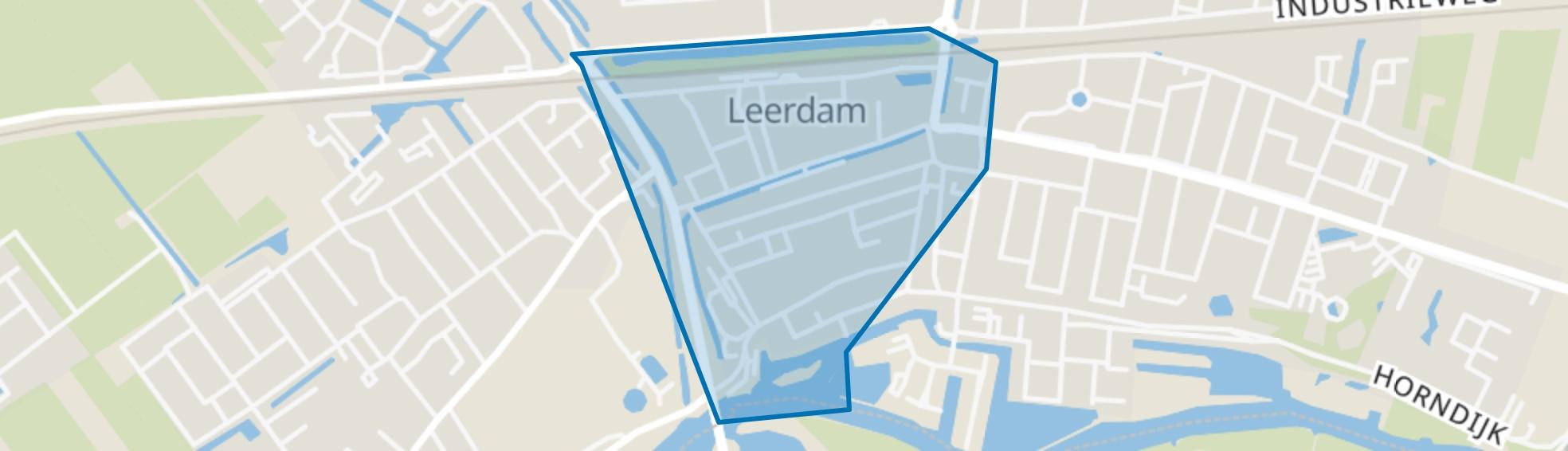 Leerdam-Centrum, Leerdam map