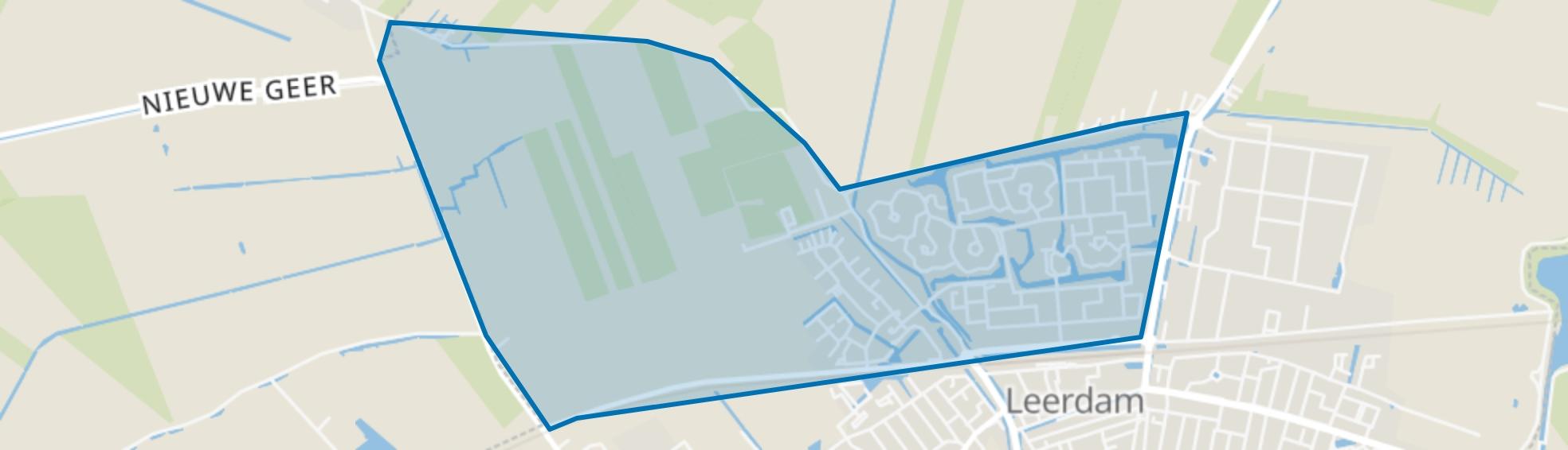 Leerdam-Noord, Leerdam map